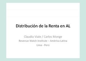 distribución de la renta en américa latina