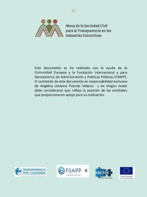 Documento sobre EITI: comercio, transparencia y materias primas