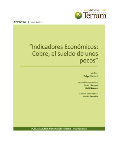 Indicadores Económicos: Cobre, el suelo de unos pocos.